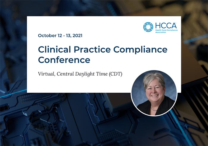 Hcca clinical practice compliance conference image